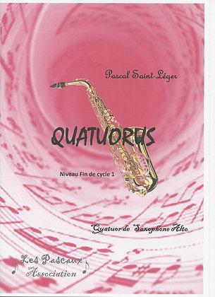 QUATUORUS pour ensemble de Saxophone Alto