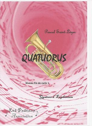 QUATUORUS pour ensemble d'Euphonium