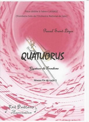 QUATUORUS pour ensemble de Trombone