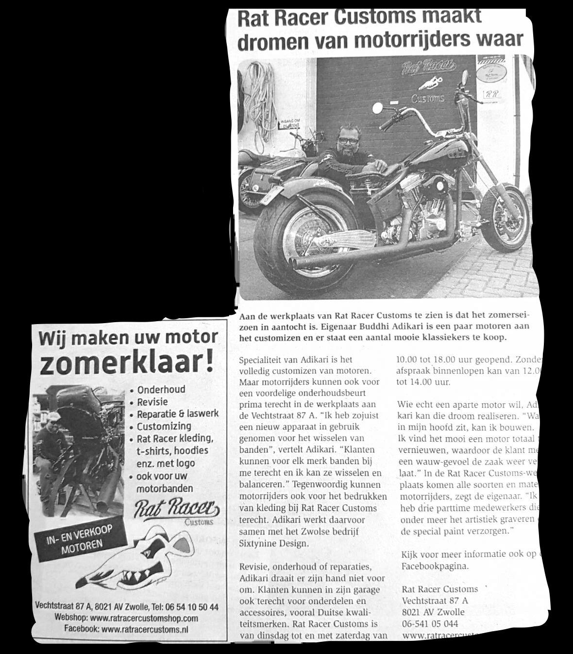 Artikel Rat Racer Customs