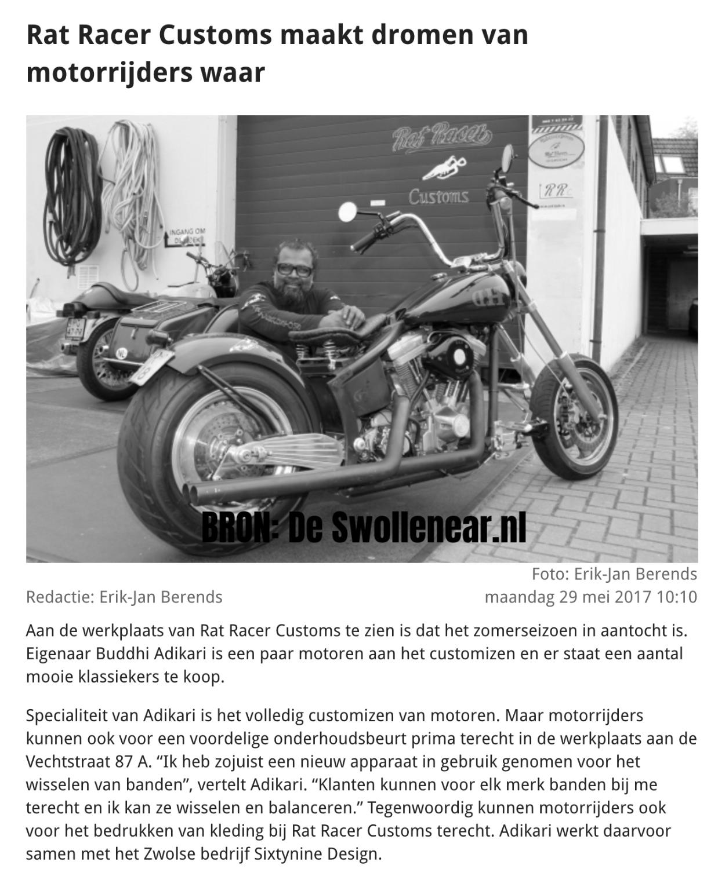 Online Artikel Rat Racer Customs