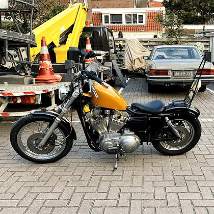 Harley Davidson 883 cc Sportsbike