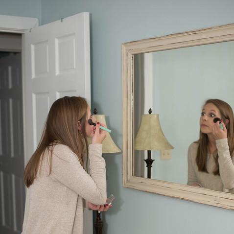 Vanity Area in Each Bedroom