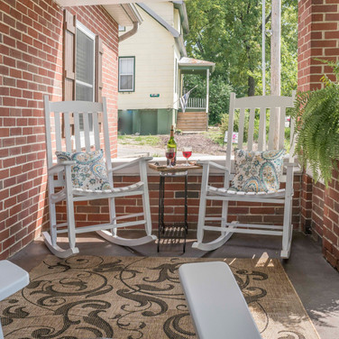Relax on our Front Porch!