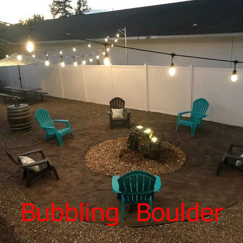RELAX Listening to Our Bubbling Boulder!