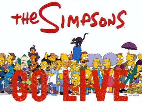 Мульт-сериал Симпсоны - в прямом эфире