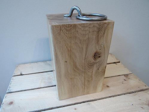 Doorstop, Handmade Reclaimed Oak Doorstop, Solid Oak