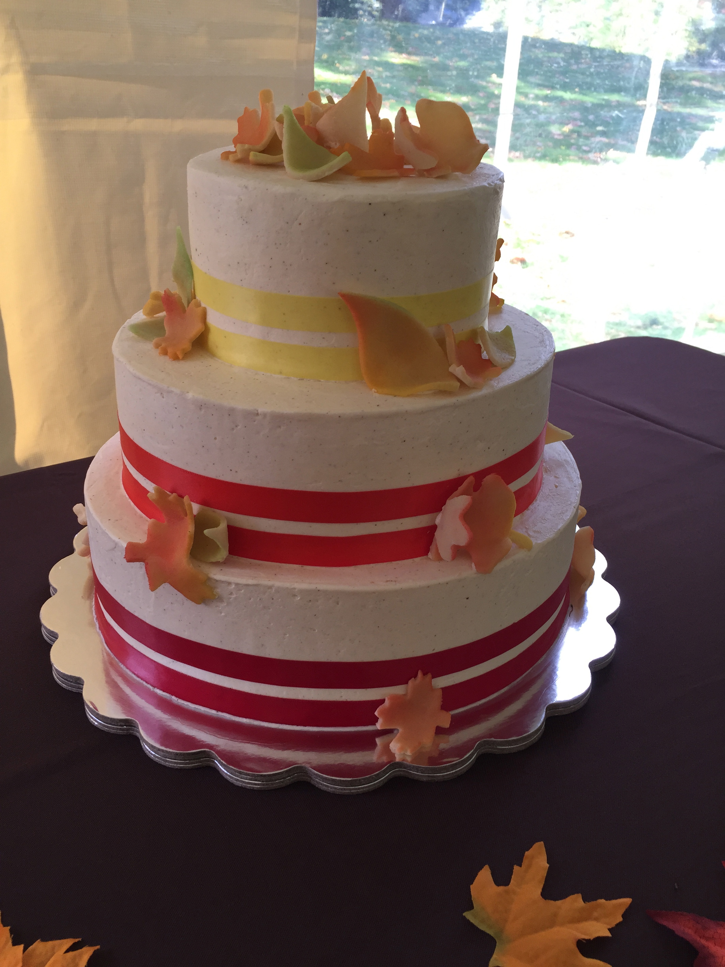 Fall Wedding with Ribbons