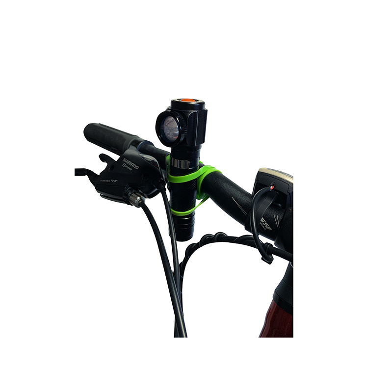 Bicycle strap-on Light Zoomie by Go Green USB Rechargeable 500 Lumens New