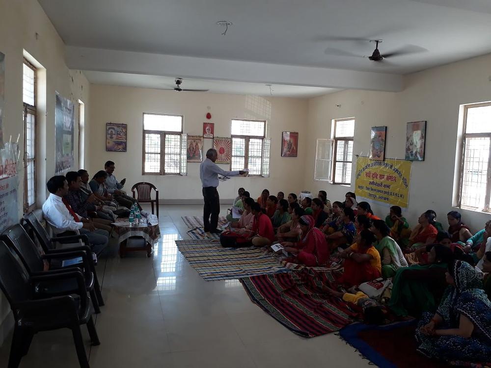 Women SHG of Nai Drashti Gramya Snagthan at Ranipokhri Dehradun