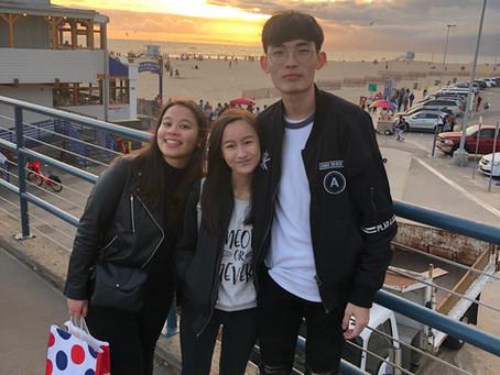 Interns from Hong Kong