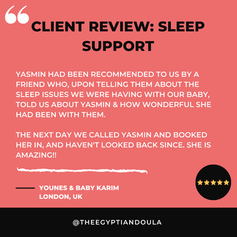 CLIENT REVIEW - SLEEP SUPPORT - YOUNES &