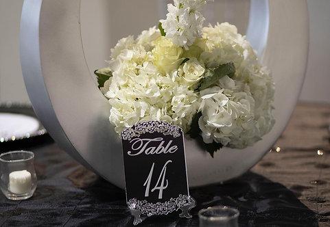 True Elegance Table Numbers