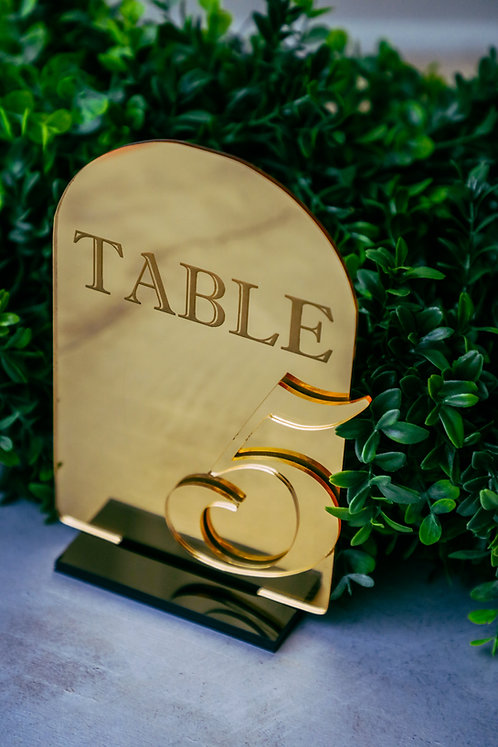Taylar Table Number