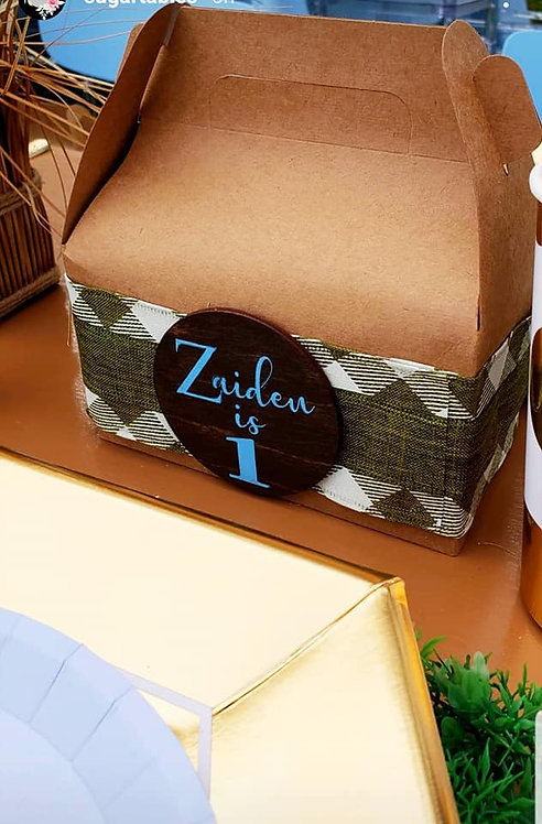 """2"""" Theme Personalized Favor Tags"""