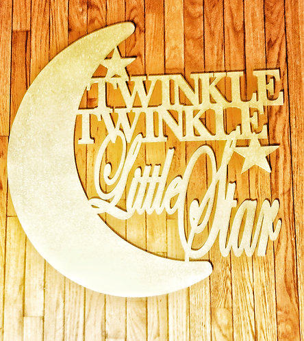 36' Twinkle Twinkle Little Star sign