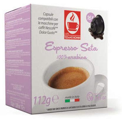 קפסולות Dolce gusto Seta Caffe Bonini