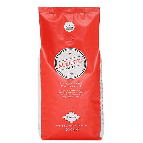 פולי קפה גוריציאנה סאן גוסטו 250 גר' - Caffe Goriziana San Giusto Intenso 250gr