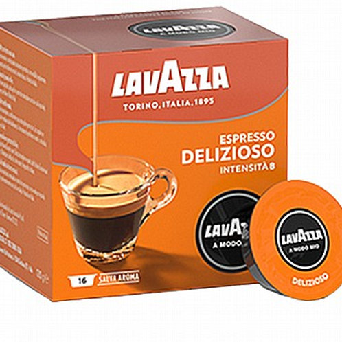DELIZIOSO Lavazza Amodo-Mio קפסולות מקוריות לאווצה מודו