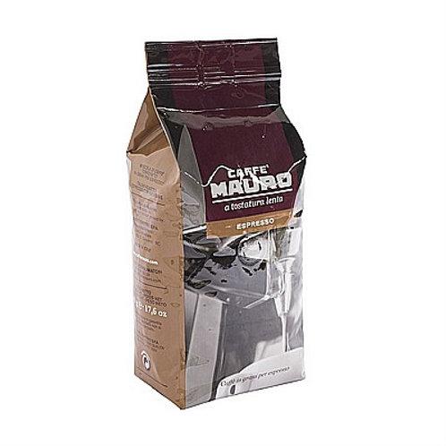 קפה מאורו אספרסו - 500 גרם פולים