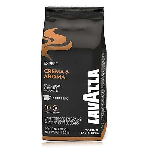 1 ק''ג קפה לוואצה - lavazza expert Crema & Aroma