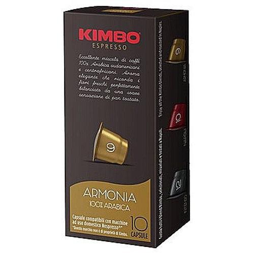קפסולות תואמות נספרסו KIMBO יח 10 - ארמוניה