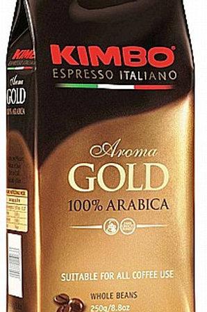 פולי קפה Kimbo Espresso Gold 100% arabica
