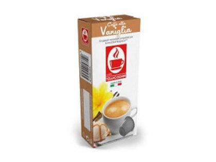 קפסולות תואמות נספרסו בטעם ווניל Vaniglia Caffe Bonini