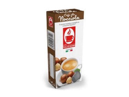 קפסולות תואמות נספרסו בטעם אגוזים Nocciola Caffe Bonini