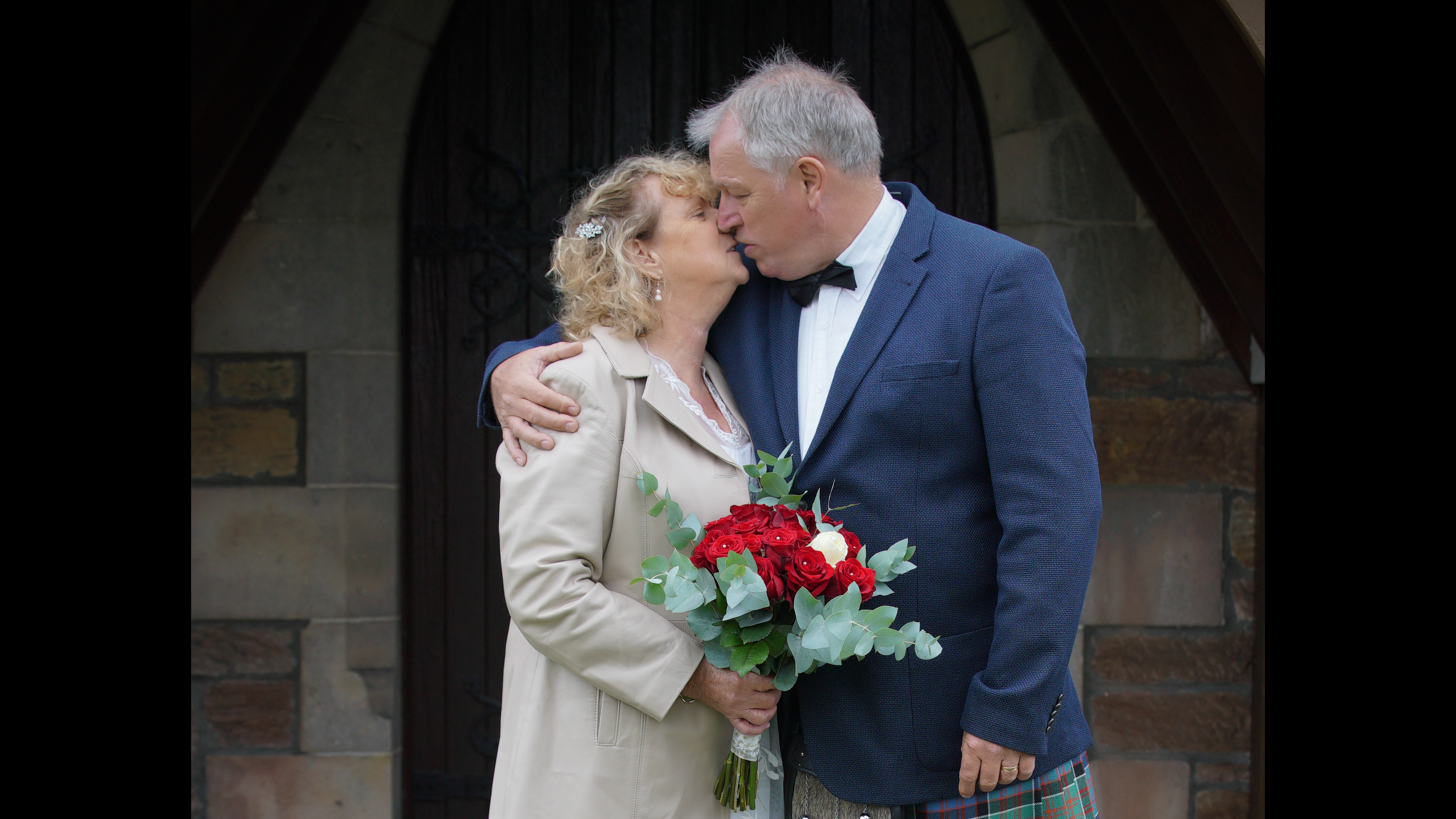 Joan & Jim - Dornoch Church