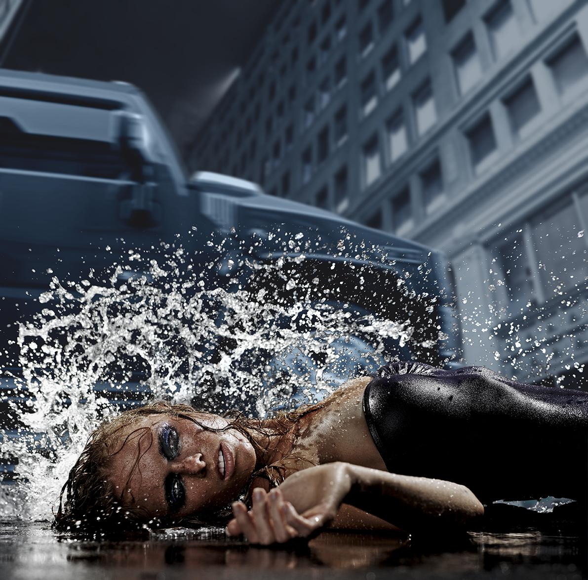 Square Rain 8