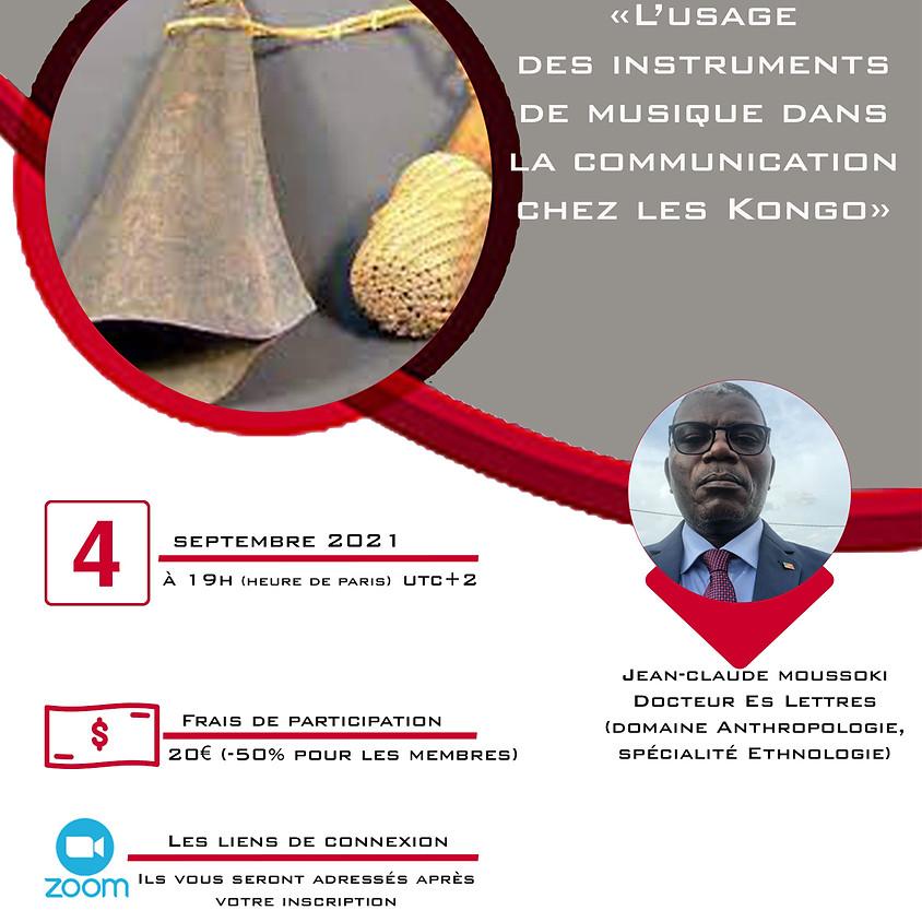 L'USAGE DES INSTRUMENTS DE MUSIQUE DANS LA COMMUNICATION CHEZ LES KONGO