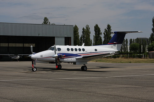 30 Min. Beechcraft King Air Simulator Fixed Base (Bewegung zubuchbar)*