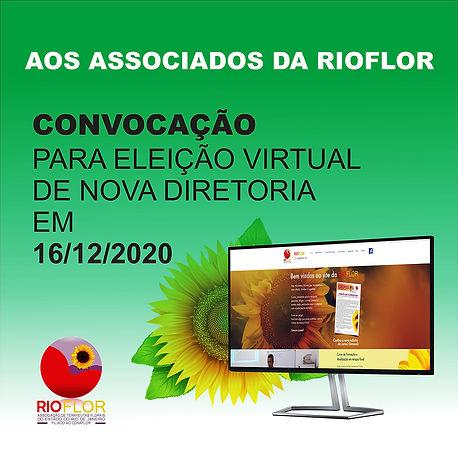 Convocação para eleição Rioflor 2020