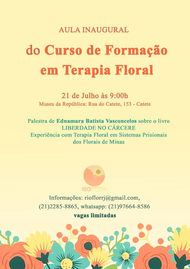 Aula Inaugural do Curso de Formação em Terapia Floral