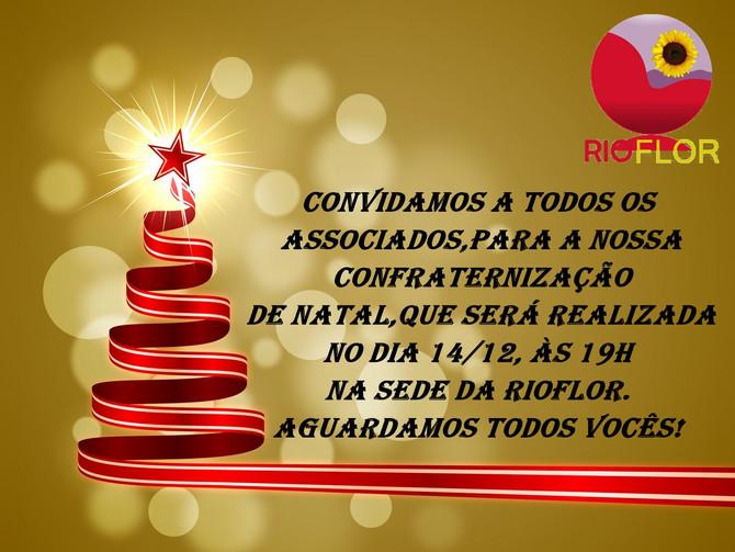 Convite para Confraternização Natal!!