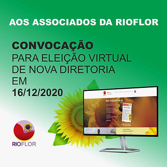 AVISO DE ELEIÇÃO RIOFLOR 2020