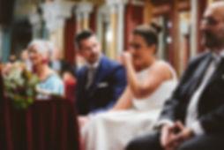 ceremonia de bodas en el ayuntamento de Bilbao