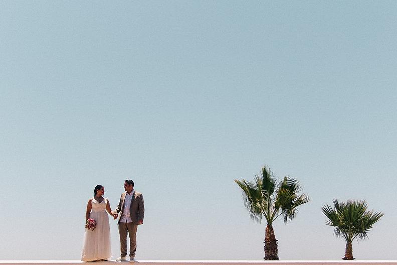 Fotografia de bodas en la playa malaga