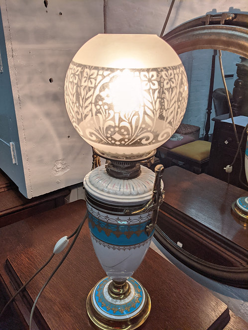 Converted Oil Lamp