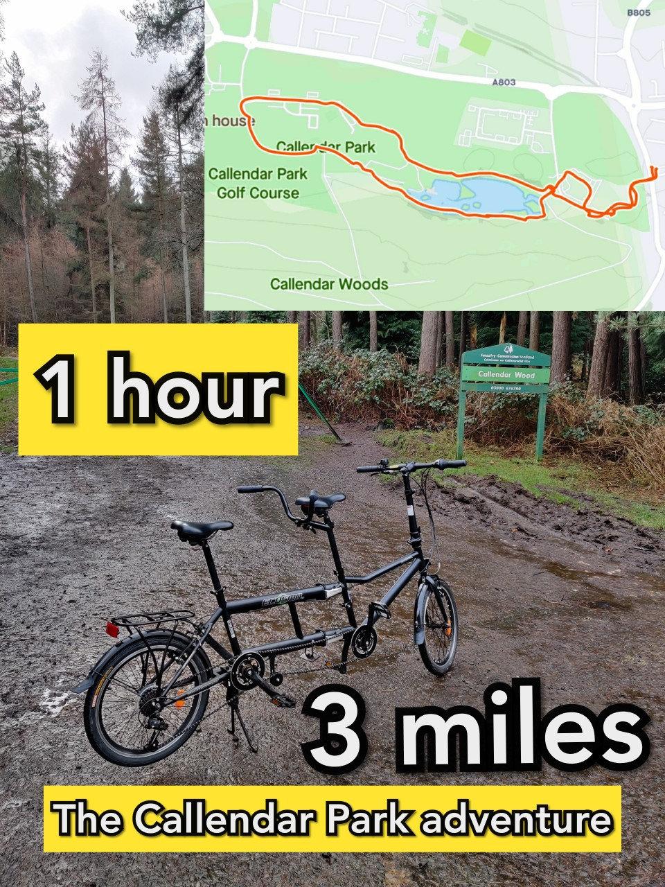 Tandem bike hire - Mini Adventure