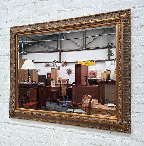 Large Gilt Framed Wall Mirror