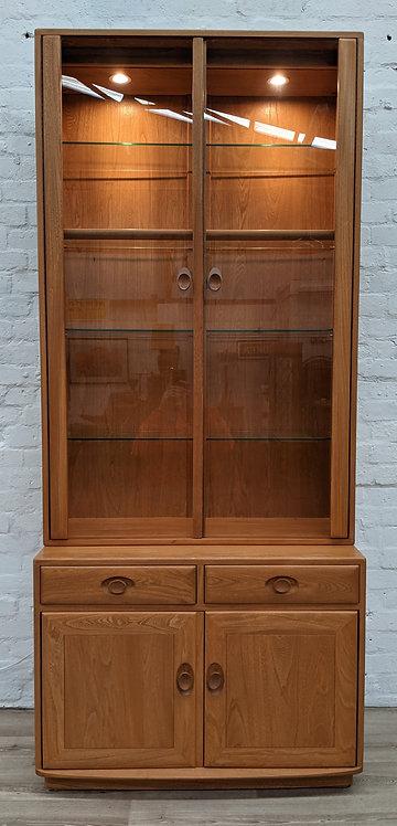 Ercol Windsor Cabinet Over Sideboard