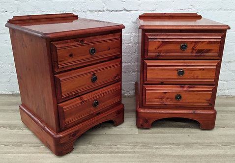 Pair Of Ducal Rosedale Bedside Cabinets