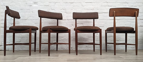 Four G plan Dining Chairs