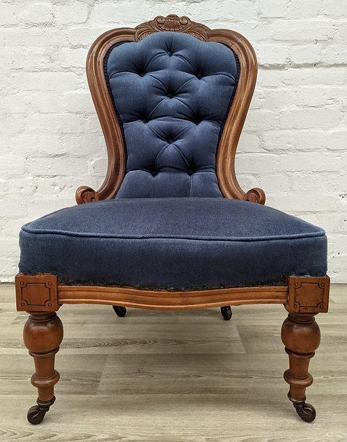 Edwardian Button Back Chair