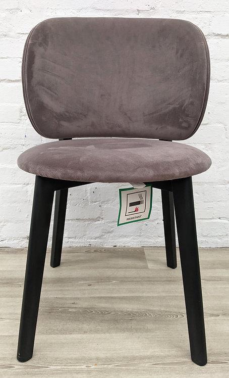 John Lewis & Partners Eclipse Velvet Dining Chair