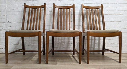 Three Ercol Dining Chairs