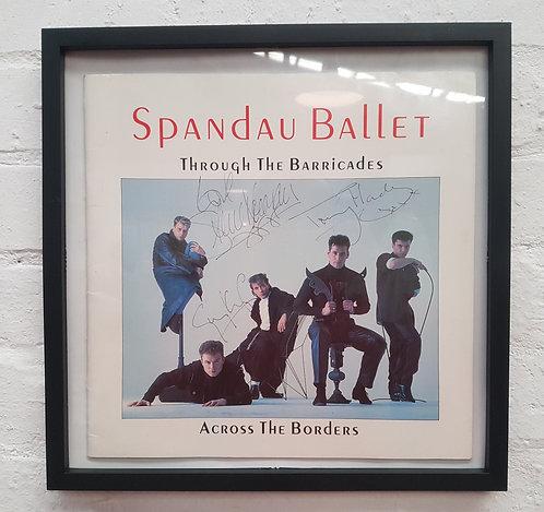 Signed spandau ballet print