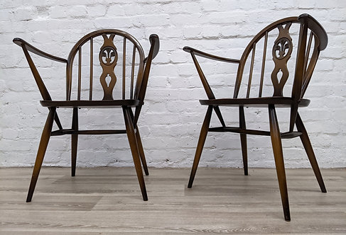 Pair of Ercol Carver Chairs